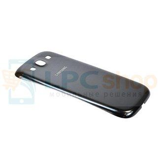 Крышка(задняя) Samsung Galaxy S3 i9300 Чёрная