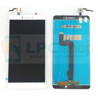 Дисплей для Xiaomi Mi Max в сборе с тачскрином Белый
