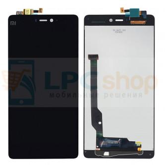 Дисплей для Xiaomi Mi4s в сборе с тачскрином Черный