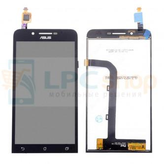 Дисплей для Asus ZenFone Go (ZC500TG) в сборе с тачскрином Черный
