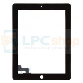 Тачскрин (сенсор) для iPad 2 Черный - Оригинал