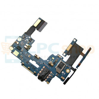 Шлейф HTC One Dual 802w плата на кнопки громкости и разъем гарнитуры
