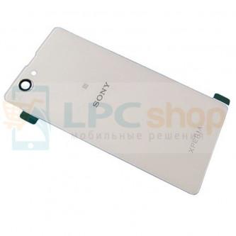 Крышка(задняя) Sony Xperia Z1 Compact D5503 Белая