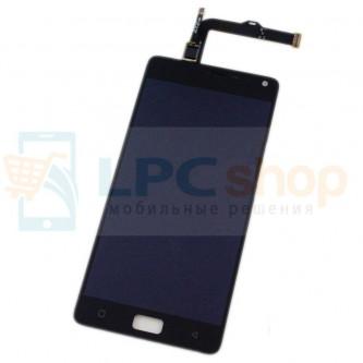 Дисплей для Lenovo Vibe P1 в сборе с тачскрином Черный