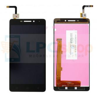 Дисплей для Lenovo Vibe P1m в сборе с тачскрином Черный