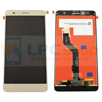 Дисплей для Huawei Honor 5X в сборе с тачскрином Золотой