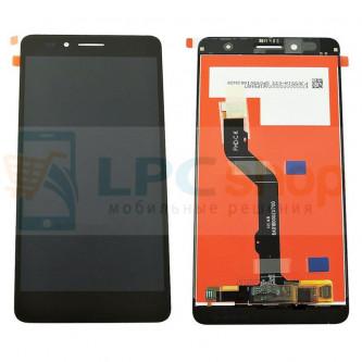 Дисплей для Huawei Honor 5X в сборе с тачскрином Черный