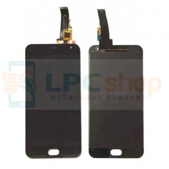 Дисплей для Meizu M2 mini в сборе с тачскрином Черный