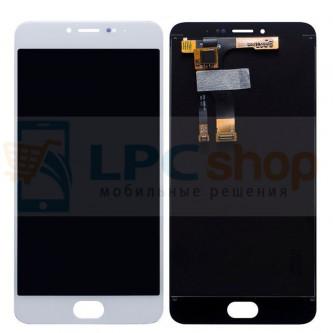 Дисплей для Meizu M3 Note в сборе с тачскрином Белый