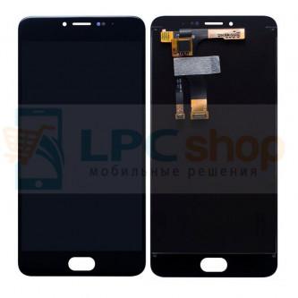 Дисплей для Meizu M3 Note в сборе с тачскрином Черный