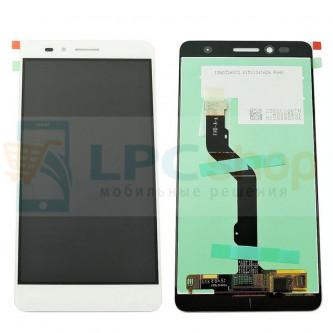 Дисплей для Huawei Honor 5X в сборе с тачскрином Белый