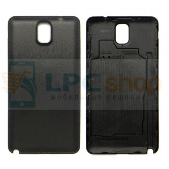 Крышка(задняя) Samsung Galaxy Note 3 N9000 / LTE N9005 Чёрная