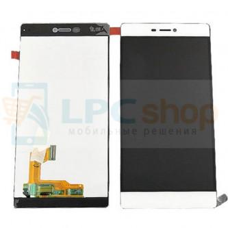 Дисплей для Huawei P8 в сборе с тачскрином Белый