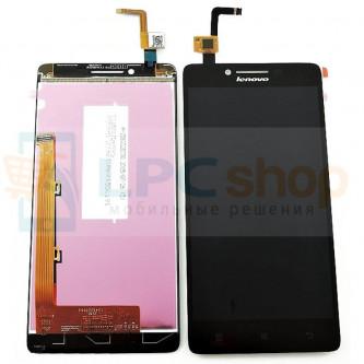 Дисплей для Lenovo A6000 K30 в сборе с тачскрином Черный