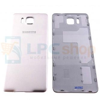 Крышка(задняя) Samsung Galaxy Alpha G850F Белый