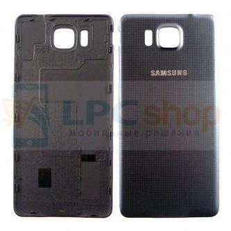 Крышка(задняя) Samsung Galaxy Alpha G850F Чёрный