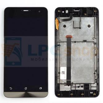 Дисплей для Asus ZenFone 5 (A500KL/A501CG) модуль Черный - Оригинал