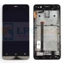 Дисплей для Asus ZenFone 5 (A500KL/A501CG) в сборе с рамкой Черный - Оригинал