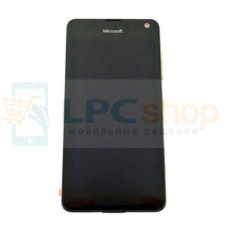 Дисплей для Microsoft 650/650 Dual (RM-1152/RM-1154) модуль Черный - Оригинал 100%