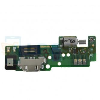 Шлейф разъема зарядкиSony Xperia E5 F3311 / F3313 (плата) вибромтора и микрофона