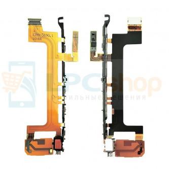 Шлейф Sony Xperia X Performance F8131 / Dual F8132 на кнопки громкости, включения, камеру и вибромотора