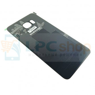 Крышка(задняя) Samsung Galaxy S6 Edge Plus G928F Чёрный