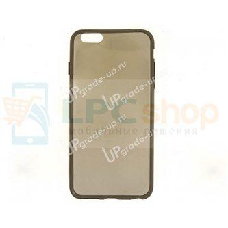 Силиконовый чехол(TPU) для Apple iPhone 6 Plus / 6s Plus TPU 0.3mm серый глянцевый