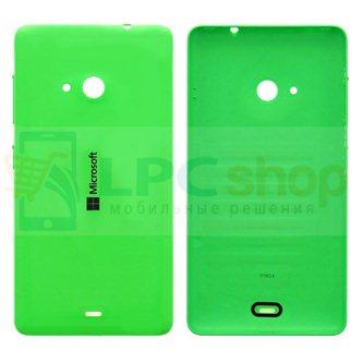 Крышка(задняя) Microsoft Lumia 535 Dual (RM-1090) Зеленая