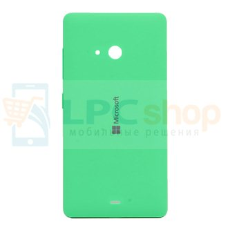 Крышка(задняя) Microsoft Lumia 540 (RM-1140) Зеленая