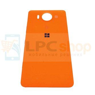 Крышка(задняя) Microsoft Lumia 950 (RM-1118) Оранжевая