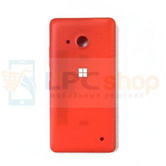Крышка(задняя) Microsoft Lumia 550 (RM-1127) Красная