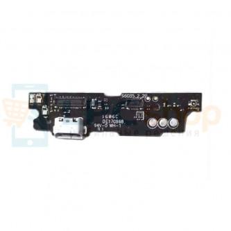 Шлейф разъема зарядки Meizu M3 Note (плата) микрофон / и кнопки HOME