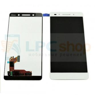 Дисплей для Huawei Honor 7 в сборе с тачскрином Белый