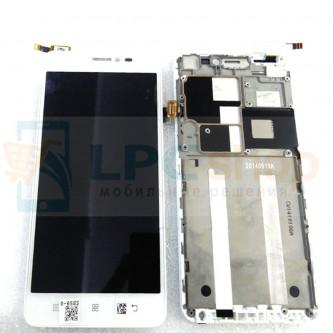Дисплей для Lenovo S850 модуль Белый