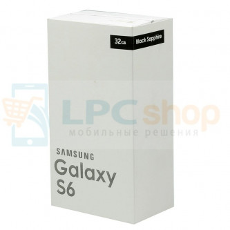 Коробка для Samsung G920 Galaxy S6 Белая
