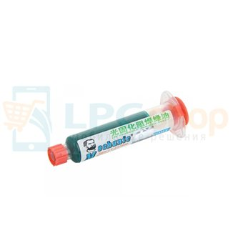 Лак/маска Mechanic LY-UVH900 (10cc) Зеленный для восстановления лакового покрытия на чипах и платах