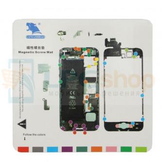 Магнитный коврик (Screw Magnetic mat) для iPhone 5