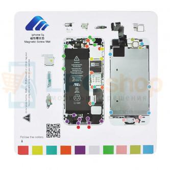 Магнитный коврик (Screw Magnetic mat) для iPhone 5S