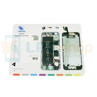 Магнитный коврик (Screw Magnetic mat) для iPhone 6