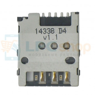 Коннектор SIM-Карты Nokia 630 Dual/730 Dual