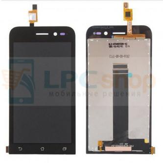 Дисплей для ASUS ZenFone Go ZB452KG в сборе с тачскрином Черный