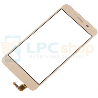 Тачскрин (сенсор) для Huawei Y5 II Золото