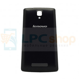 Крышка(задняя) Lenovo A1000 Черная
