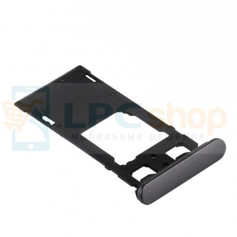 Лоток SIM Sony Xperia X Dual F5122 Черный
