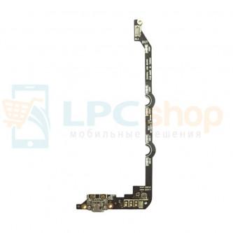 Шлейф Asus ZE550KL ZenFone 2 Laser плата и микрофон
