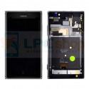 Дисплей для Nokia Lumia 925 в сборе с рамкой Серый