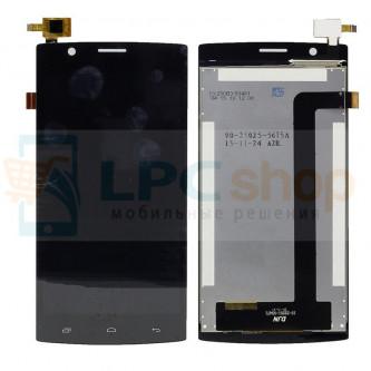 Дисплей для Fly FS501 (Nimbus 3) в сборе с тачскрином Черный