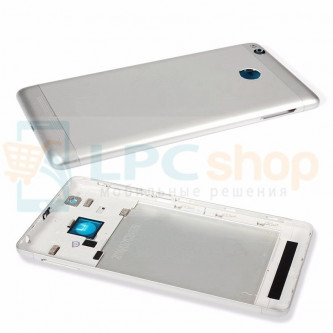 Крышка(задняя) Xiaomi Redmi 3S Серебро