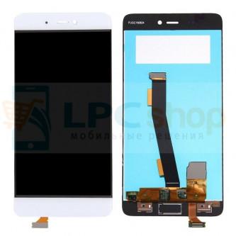 Дисплей для Xiaomi Mi5s в сборе с тачскрином Белый