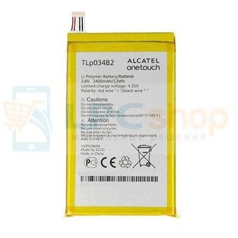 Аккумулятор для Alcatel TLp034B2  ( Pop S9 7050Y / 8020 Hero )